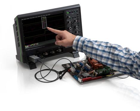 Oscilloscope numérique  4 voies 500 MHz, 2,5 Géch/s, 12 500 000 points  HDO 4054