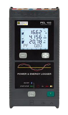 Enregistreur de puissance et d'énergie PEL 103, avec affichage + MA193  PEL 103