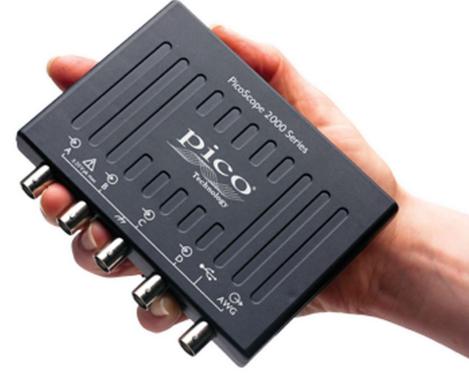 Oscilloscope USB PicoScope 2205A, 2 voies 25 MHz   PicoScope 2205A
