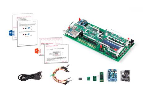 Pack d'apprentissage sur la  conception de sytèmes IoT avec kit de développement et  support de cours U3804A