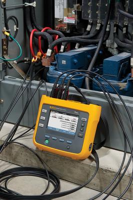 Enregistreur de qualité d' énergie triphasé, version  Europe et US  FLUKE-1732/EUS