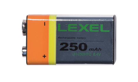 Accu rechargeable 9V 250mAh    05150025