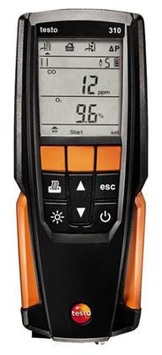 Kit analyseur de combustion  Testo 310 avec imprimante   05633110