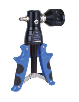 Pompe de pression pneumatique jusqu'à 40 bar   7090