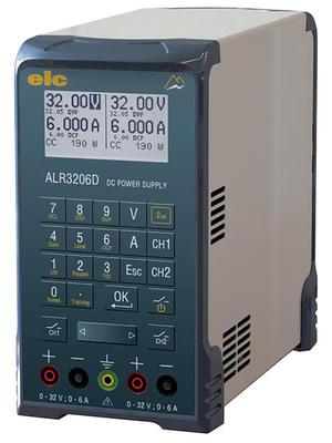 Alimentation numérique programmable double 32 V / 6 A - 64 V / 6A ou 32 V / 12 A  ALR3206D