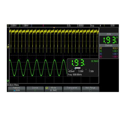 Option voltmètre numérique intégré pour séries DSOX / MSOX 2000, 3000 et 4000  DSOXDVM