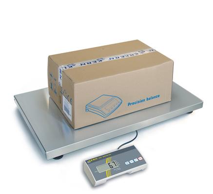 Balances numériques de  précision jusqu'à 300 kg (selon le modèle), écran LCD  déporté Série EOB