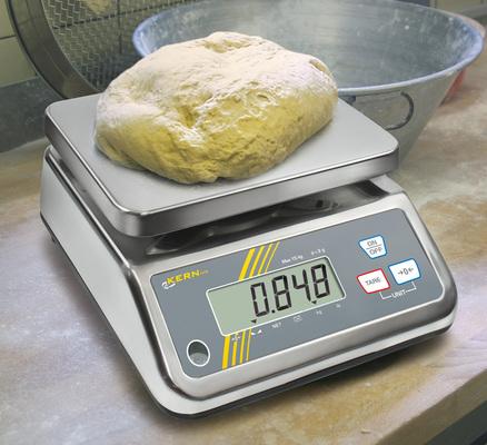 Balances numériques de  précision jusqu'à 25 kg (selon  le modèle), tout inox  Série FFN