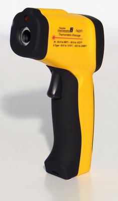 Thermomètre infrarouge -50°C à 700°C, avec entrée pour thermocouple K  FI 625TI
