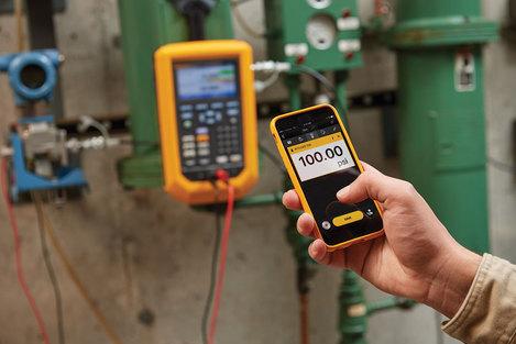 Calibrateur de pression 2 bar  30 psi avec Fluke Connect   FLUKE-729-30G-FC