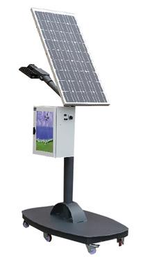 Lampadaire solaire à LED    GREEN-LIGHT