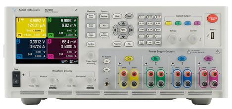 Alimentation numérique modulaire 4 modules, puissance 600 W  N6705B