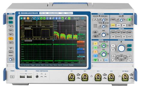 Oscilloscope numérique 4 voies 2 GHz, 5 Géch/s, mémoire 10 000 000 points  RTE 1204