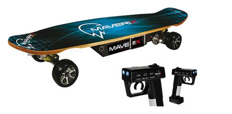 Skateboard électrique sur  banc d'essais   SKATEBOARD