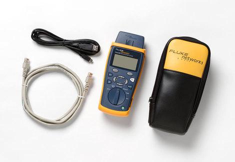 Testeur de qualification de lien CABLE IQ + adaptateur distant + sacoche souple de transport CIQ-100