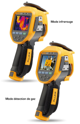 Caméra infrarouge avec mode de  détection de gaz SF6   FLUKE-TI450-SF6