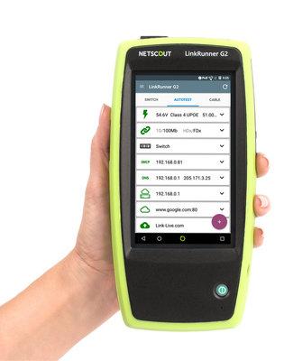 Testeur réseau intelligent LinkRunner G2   LR-G2
