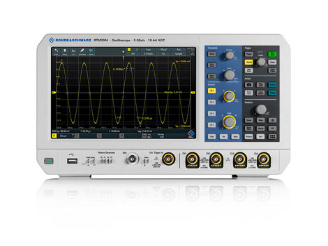 Oscilloscope numérique 4 voies 100 MHz   RTM3004