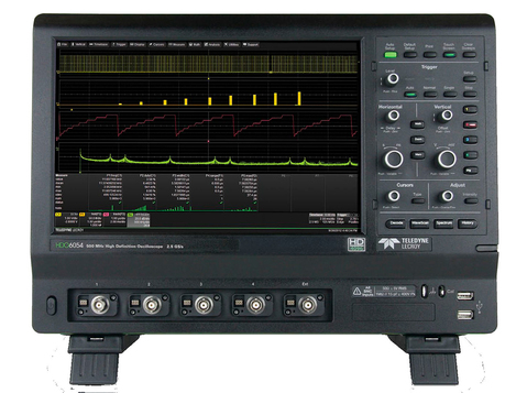 Oscilloscopes numériques 4  voies, de 350 MHZ à 1 GHz   HDO6000A