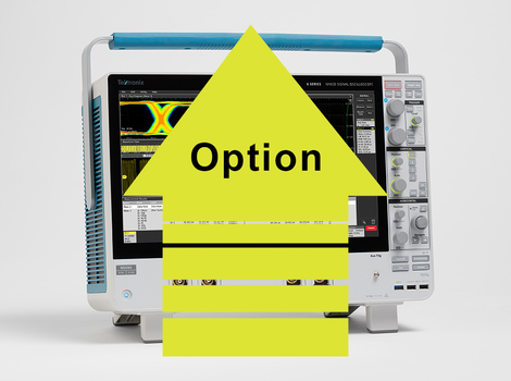 Option de déclenchement et  d'analyse série Audio (I2S,  LJ, RJ, TDM) pour MSO série 6  6-SRAUDIO