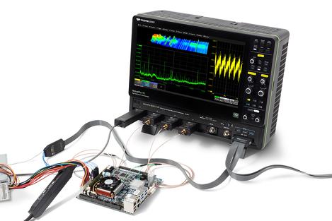 Oscilloscopes numériques 4  voies de 2,5 à 8 GHz   WAVEPRO HD