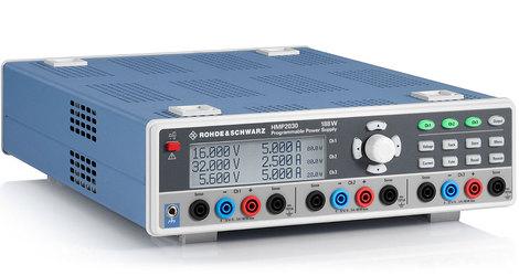 Alimentation numérique 3 voies  3x 32 V / 5 A puissance 188 W   HMP2030-2