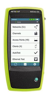 Testeur de réseaux WiFi    AirCheck G2
