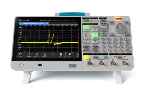 Générateurs de fonctions  arbitraires 1 ou 2 voies, de  25 à 250 MHz  AFG31000
