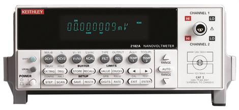 Nanovoltmètre numérique de table   2182A/E