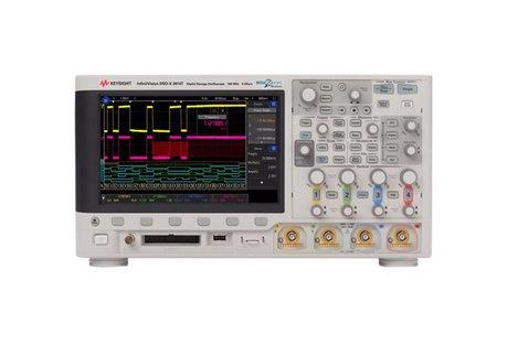 Oscilloscope numérique mixte 4 voies 100 MHz, mémoire 2 MPts + 16 voies logiques  MSOX 3014T