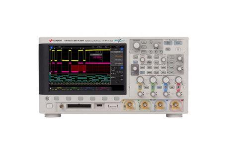 Oscilloscope numérique mixte 4 voies 200 MHz, mémoire 2 MPts + 16 voies logiques  MSOX 3024T