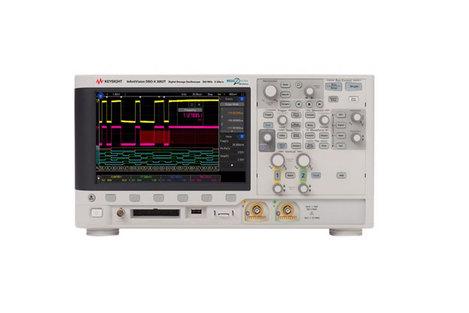 Oscilloscope numérique mixte 4 voies 500 MHz, mémoire 2 MPts + 16 voies logiques  MSOX 3054T