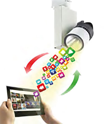 Kit LIFI électronique présenté en mallette   OLEDEC0F