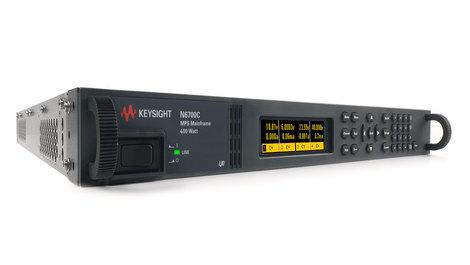 Alimentation numérique  modulaire, 4 emplacements de  modules, puissance maxi 400 W  N6700C