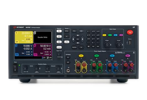 Alimentation et analyseur de  puissance DC modulaire,  puissance max 600 W  N6705C