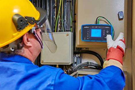 Contrôleur d'installations  électriques basse tension   MX 535