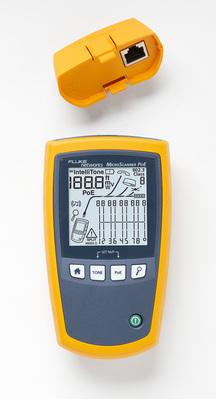 Kit professionnel Microscanner POE avec sonde Intellitone  Pro 200 et kits d'identifica- teurs distants MS-POE-KIT
