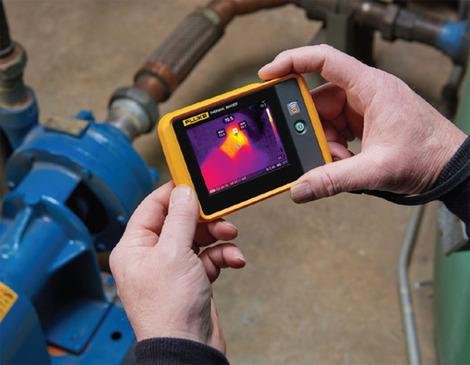 Caméra thermique de poche    FLK-PTI120-9HZ