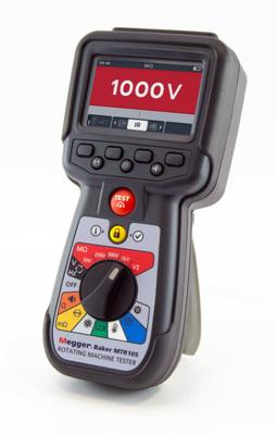 Contrôleur portable de moteurs électriques MTR105   1010-361