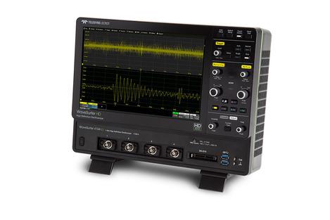 Oscilloscope numérique 4 voies 1 GHz, 2.5GS/s, 12.5 Mpts/Ch 12 bits avec écran 12.1''  WS4104HD