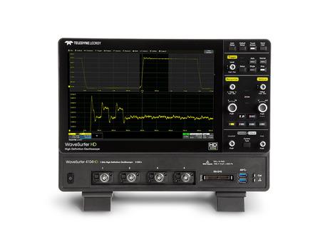 Oscilloscope numérique 4 voies 350 MHz, 2.5GS/s, 12.5 Mpts/Ch 12 bits avec écran 12.1''  WS4034HD
