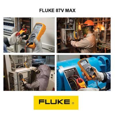 Multimètre numérique portable TRMS AC, 20 000 points, avec degré de protection IP67  FLUKE-87V-MAX