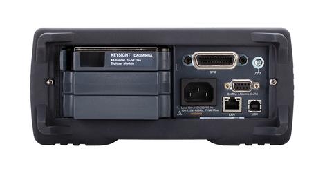Chassis pour système  d'acquisition de données  avec interfaces LAN, USB, GPIB  DAQ973A