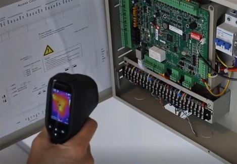 Caméra thermique portable    DIS-THERMO-31