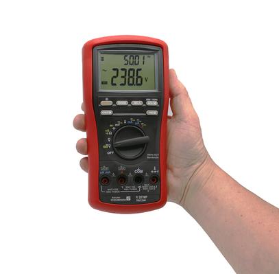 Multimètre numérique portable TRMS AC, 20 000 points, avec fonction VFD  FI 287MP