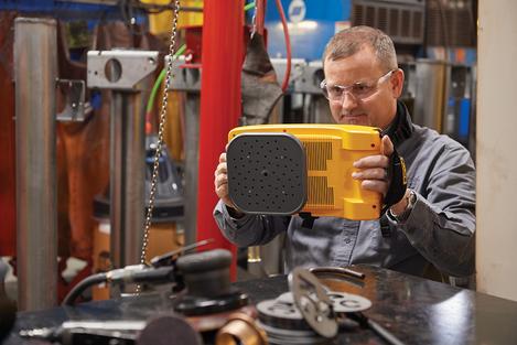 Caméra acoustique ultrasonore ii910, repérage des fuites air comprimé, gaz, vapeur, vide & décharges partielles FLK-II910