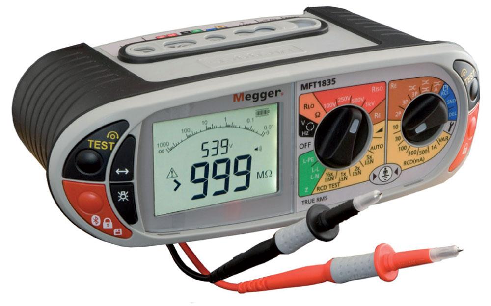 Testeur d 39 installations lectriques 1 000 m avec test de - Tester fil electrique avec multimetre ...