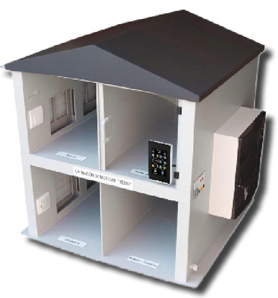 maison domotique knx eco dec industrie maison domotique knx distrame syst mes. Black Bedroom Furniture Sets. Home Design Ideas