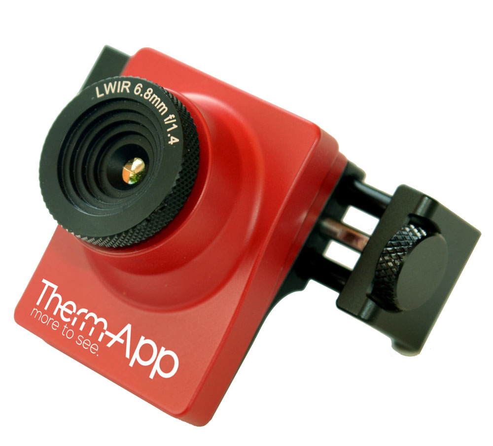 Pack cam ra thermique thermapp th pour android et - Camera thermique location ...