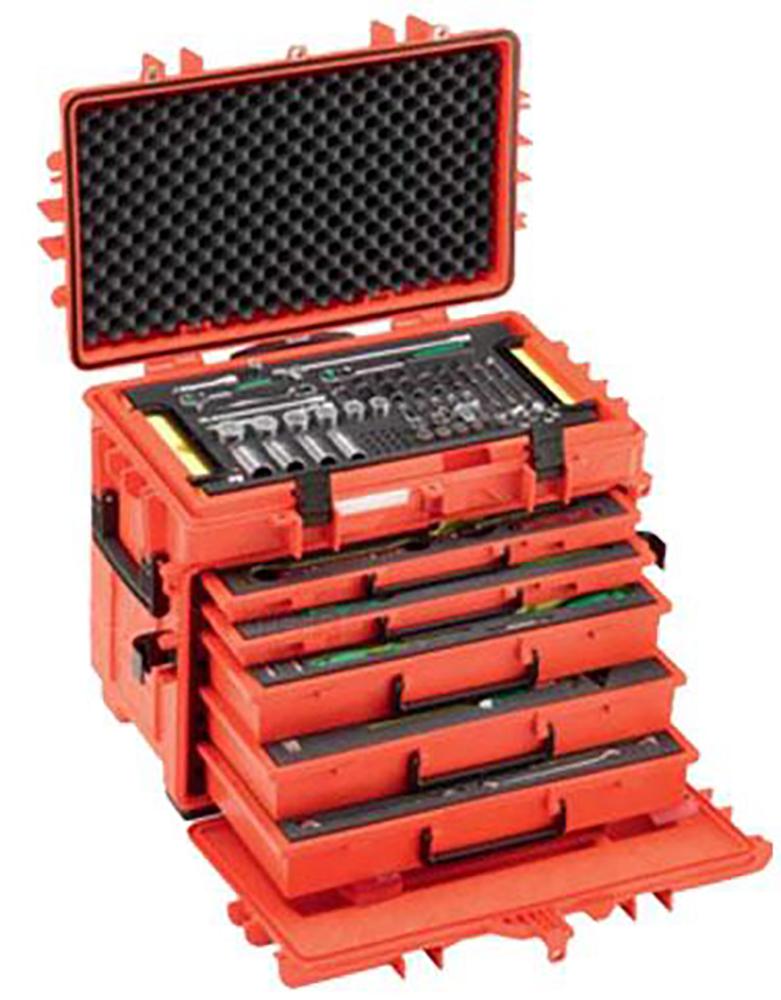 Kit d outils de maintenance en coffre à roulettes STAHLWILLE ... 702d2ef7074e
